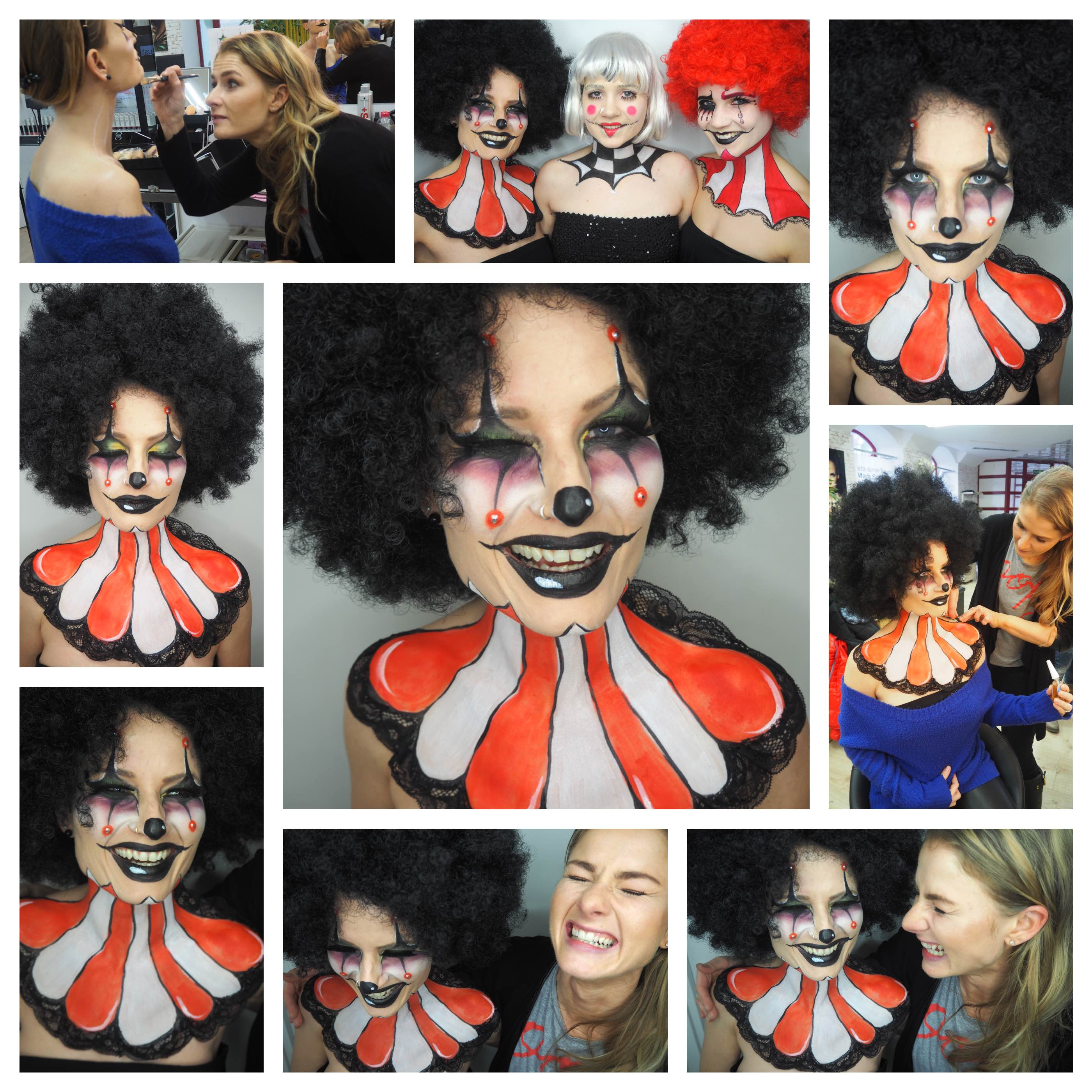 Clown Collage Kathrin